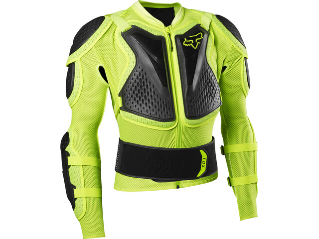 Fox Titan Sport Protector Jacket fluorescent yellow